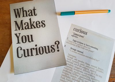What Makes You Curious?